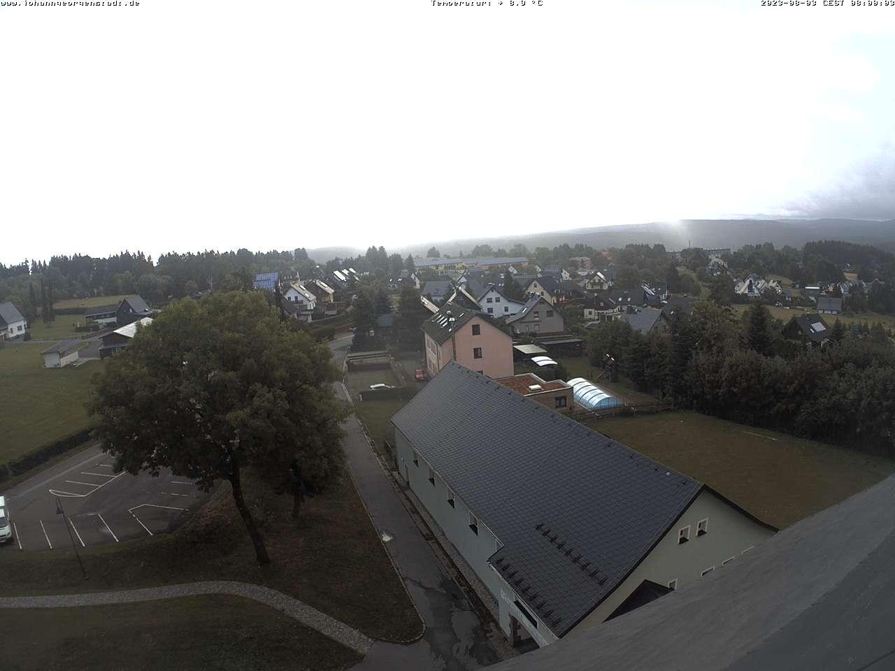 Blick auf Johanngeorgenstadt